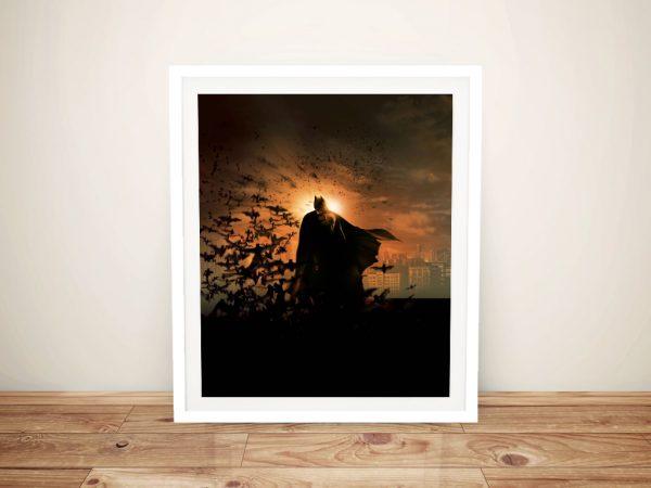 Batman Begins Framed Wall Art