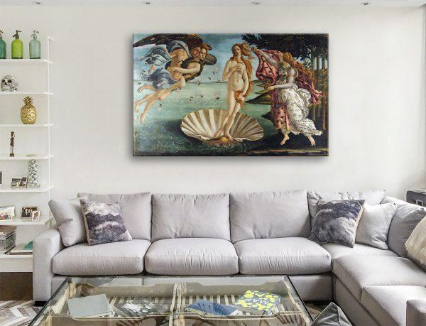 Birth of Venus Canvas Artwork