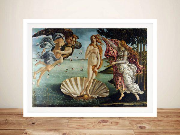 Birth of Venus Wall Art Sydney