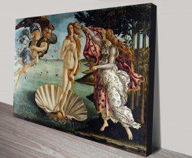 The Birth of Venus (Nascita di Venere) Sandro Botticelli Painting Print