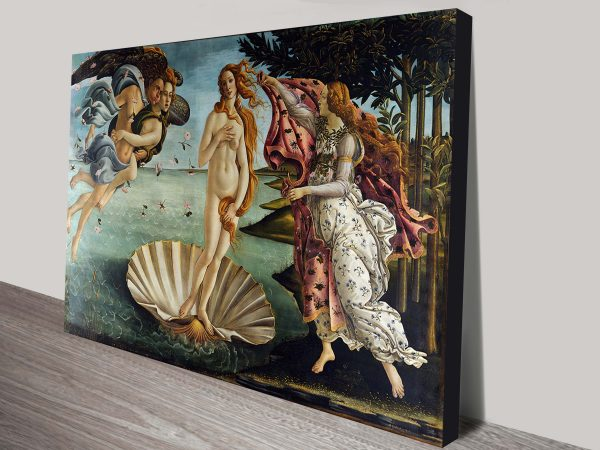 The Birth of Venus (Nascita di Venere) Sandro Botticelli Painting Print