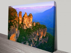 Blue Mountains Art on Canvas