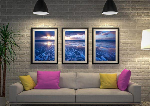Buy Mellow Blue Surfscape Wall Art Online