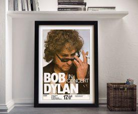 Buy a Framed Bob Dylan Concert Poster
