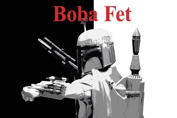 Boba Fett Fan Art Framed Wall Poster Prints