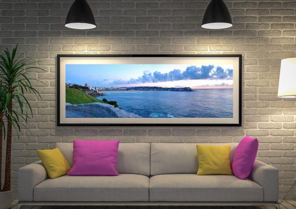 Bondi Beach Panoramic Framed Prints Australia