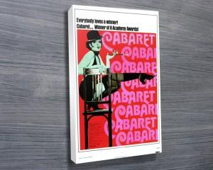 Cabaret movie poster canvas print.