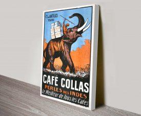 Cafe Collas Canvas Art Print Australia