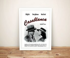 Casablanca Framed Poster Wall Art Australia