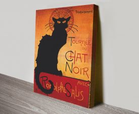Chat Noir Advertising Vintage Poster Print