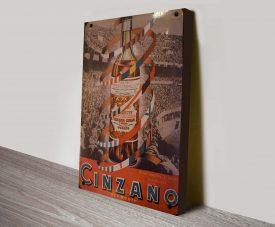 Cinzano Copa Vinatge Poster Art Print