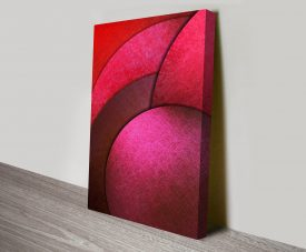 Circular Radiance Canvas Print