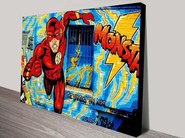 Comic Book Graffiti Marvel Wall Art