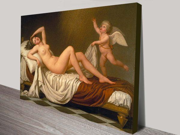 Dana by Adolf Ulrik Wertmuller Canvas Wall Artwork