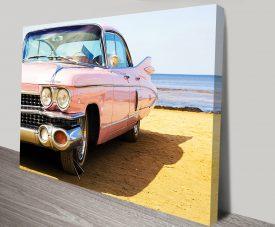 Done-Cadillac on Beach
