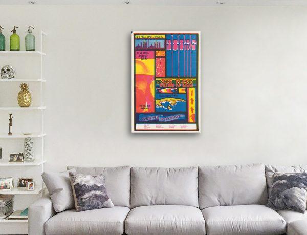 Buy The Doors Poster Print Wall Art Cheap Online