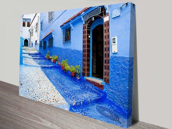 Doorways of Morocco Canvas Wall Art