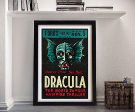 Dracula Framed Wall Art