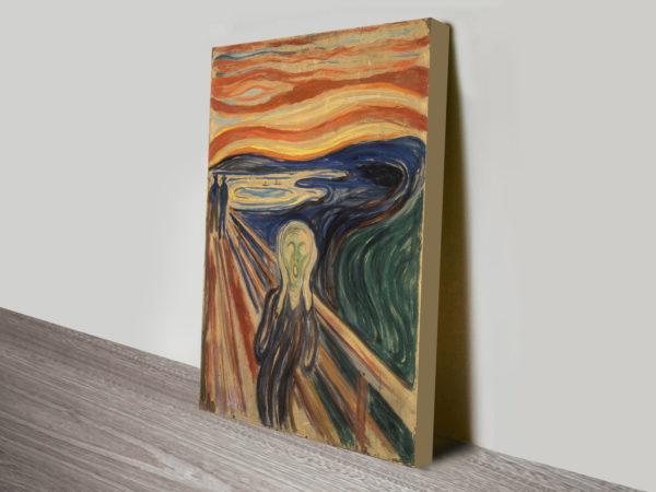 Edvard Munch The Scream Canvas Print