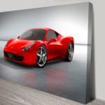 Ferrari canvas art Picture Australia