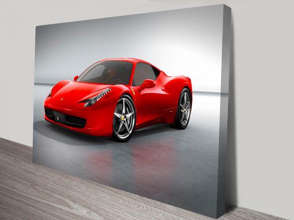 Ferrari canvas art Picture Australia