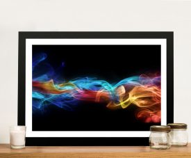 Fire & ice Framed Wall Art