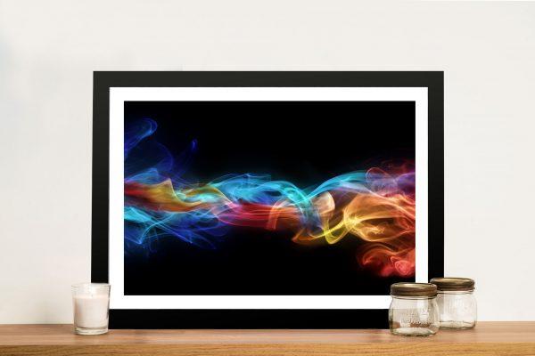 Fire & ice Framed Wall Art