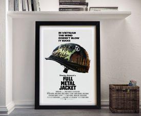 Full Metal Jacket Framed Wall Art