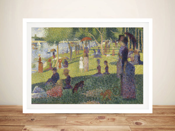 Georges Seurat La Grande Jatte Framed Wall Art