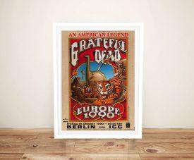 Buy a Grateful Dead 1980 Concert Poster Print
