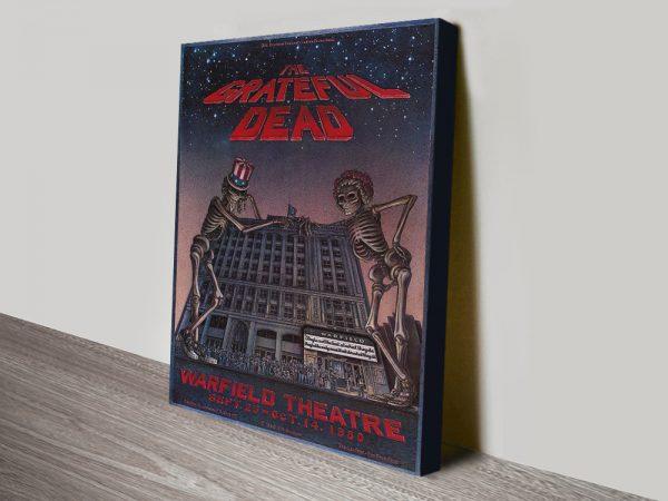 Buy a Grateful Dead Concert Poster Cheap Online