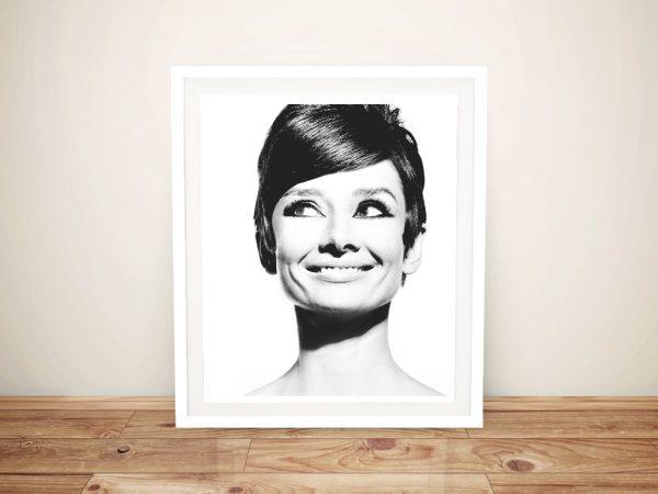 Hepburn Black And White