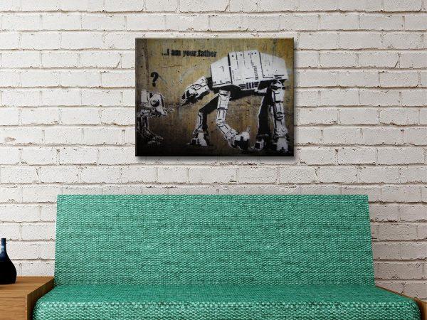 Buy Unique Banksy Star Wars Prints Cheap Online