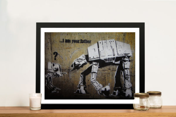 I am your father Banksy Framed Wall Art
