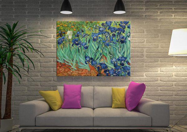 Irises Vincent Van Gogh Canvas Print