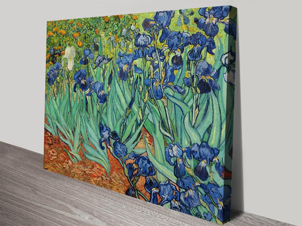 Irises By Vincent Van Gogh Canvas Wall Art Print Perth