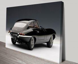 Jaguar E Type Print