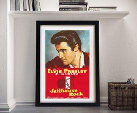Jailhouse Rock Vintage Elvis Movie Poster