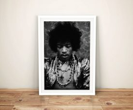 Jimi Hendrix Framed wall art