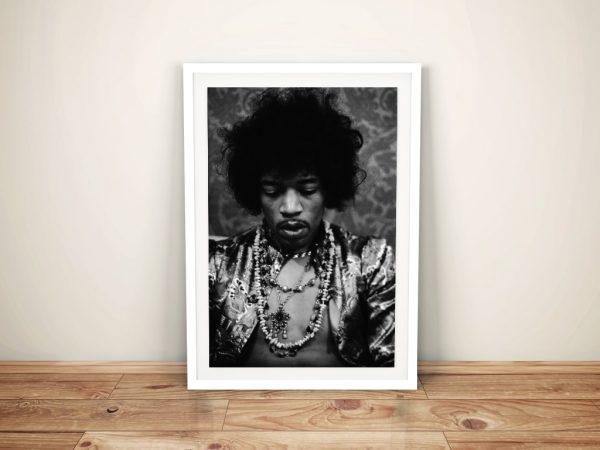 Jimi Hendrix Framed wall art