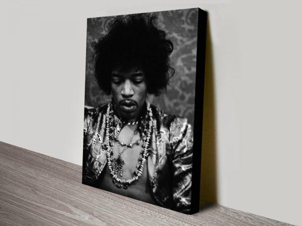 Buy Jimi Hendrix Canvas Print