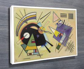 Kandinsky black and violet print