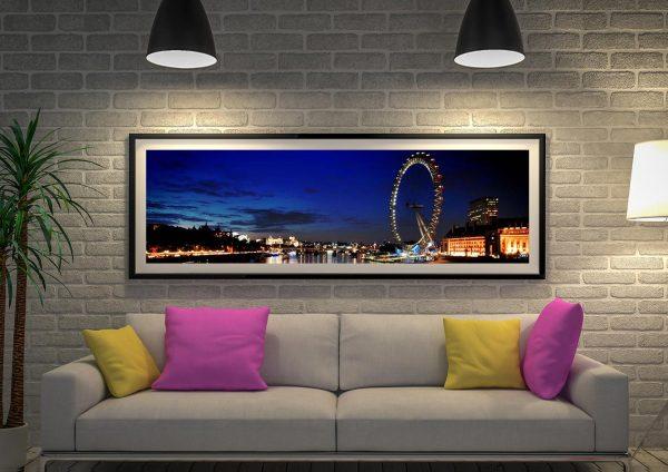 Buy a London Skyline Panoramic Canvas Print