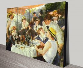 Luncheon at the Boating Party Canvas Print