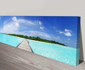 Maldives Paradise canvas Art Picture