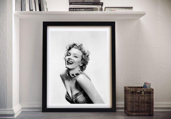 Marilyn Monroe Framed Wall Art Picture
