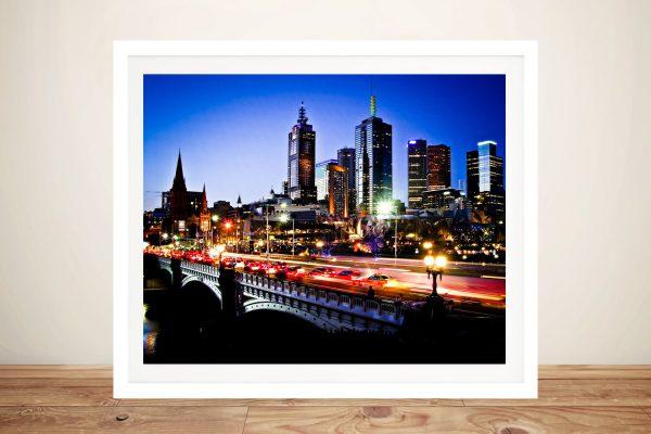 Buy Affordable Australian Skyline Wall Art