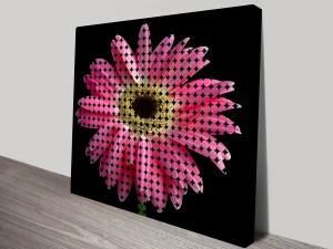 Modern Floral Wall Art Print