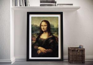 Mona Lisa Framed Picture Print