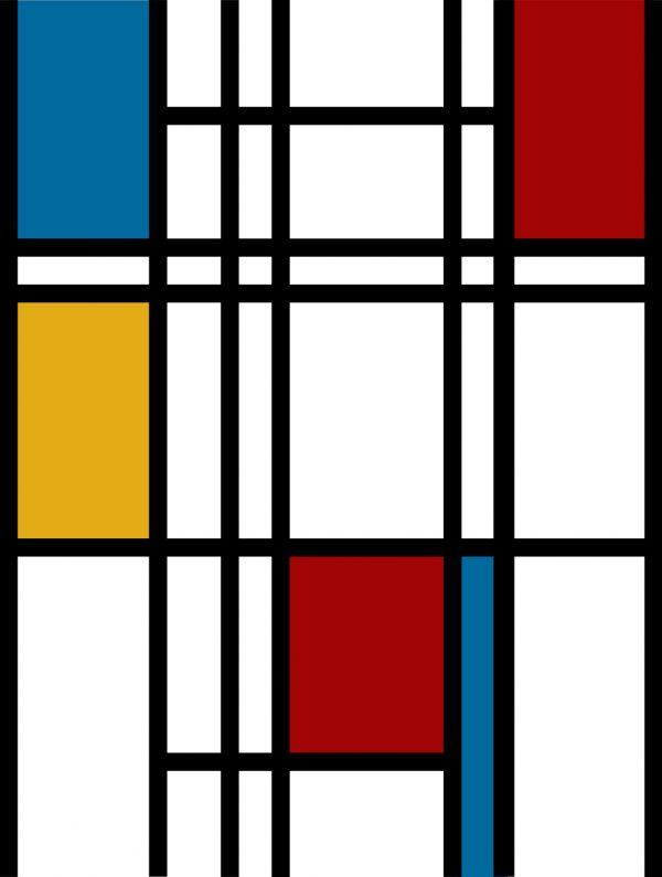 Piet Mondrian Framed Art Print